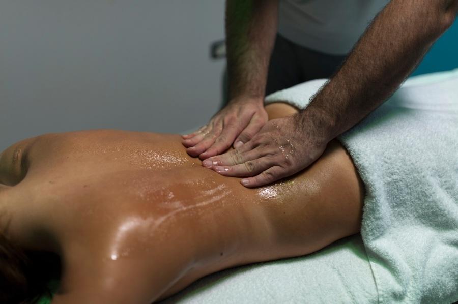 Massaggio schiena